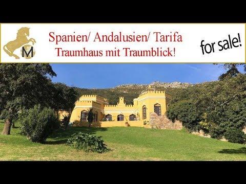 Haus Mit Traumblick Andalusien Tarifa Zu Verkaufen Youtube