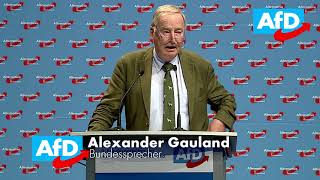 """Alexander Gauland: """"Merkel ist wie Honecker"""""""
