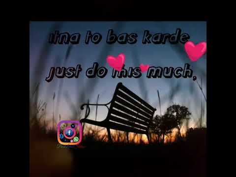 O Sathi Itna To Bs Karde Unplugged || Lyrics And Translation || Shab Movie || Arjit Singh