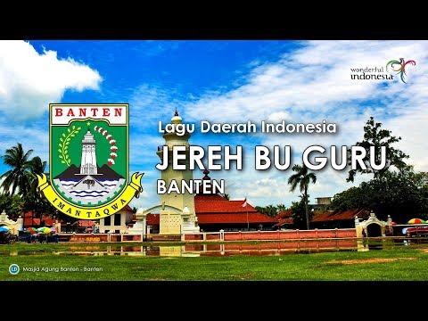 Jereh Bu Guru - Lagu Daerah Banten (Karaoke, Lirik dan Terjemahan)