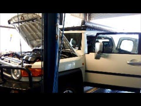 Toyota FJ Cruiser A750E/F TB-50LS V5AWF Auto Trans Service  SL1/SL2