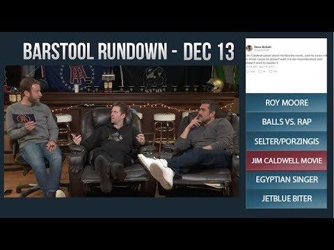 Barstool Rundown - December 13, 2017