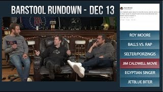 Barstool Rundown - December 13, 2017