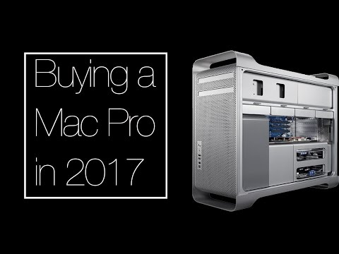 Why you should buy an old Mac Pro in 2017