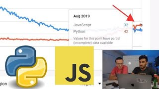 Why Python is beating Javascript in Google Trends