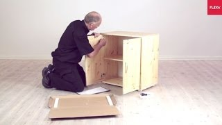 Flexa Storage Cupboard With Doors Assembly Instruction