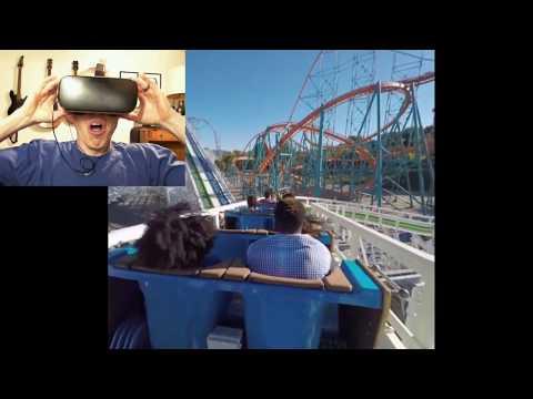 Random VR Games [VR Roller Coasters Are FUN!!!] |