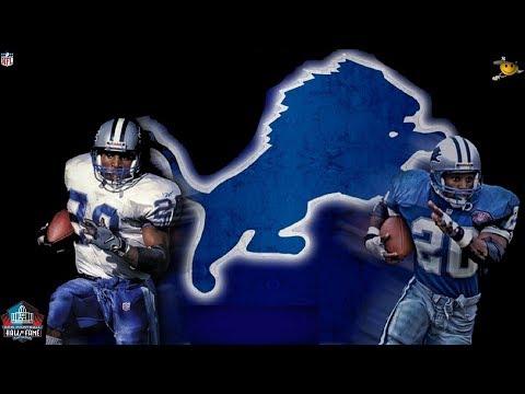 Barry Sanders (Best Running back in NFL History) NFL Legends