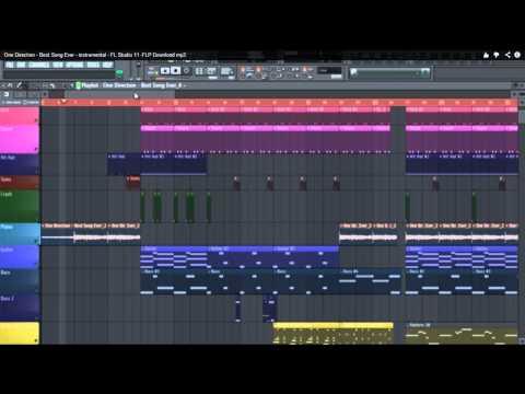 One Direction - Best Song Ever - instrumental - FL Studio 11 -FLP Download mp3