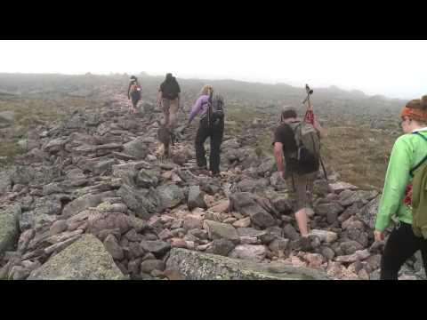Blind Hiker Conquers Katahdin