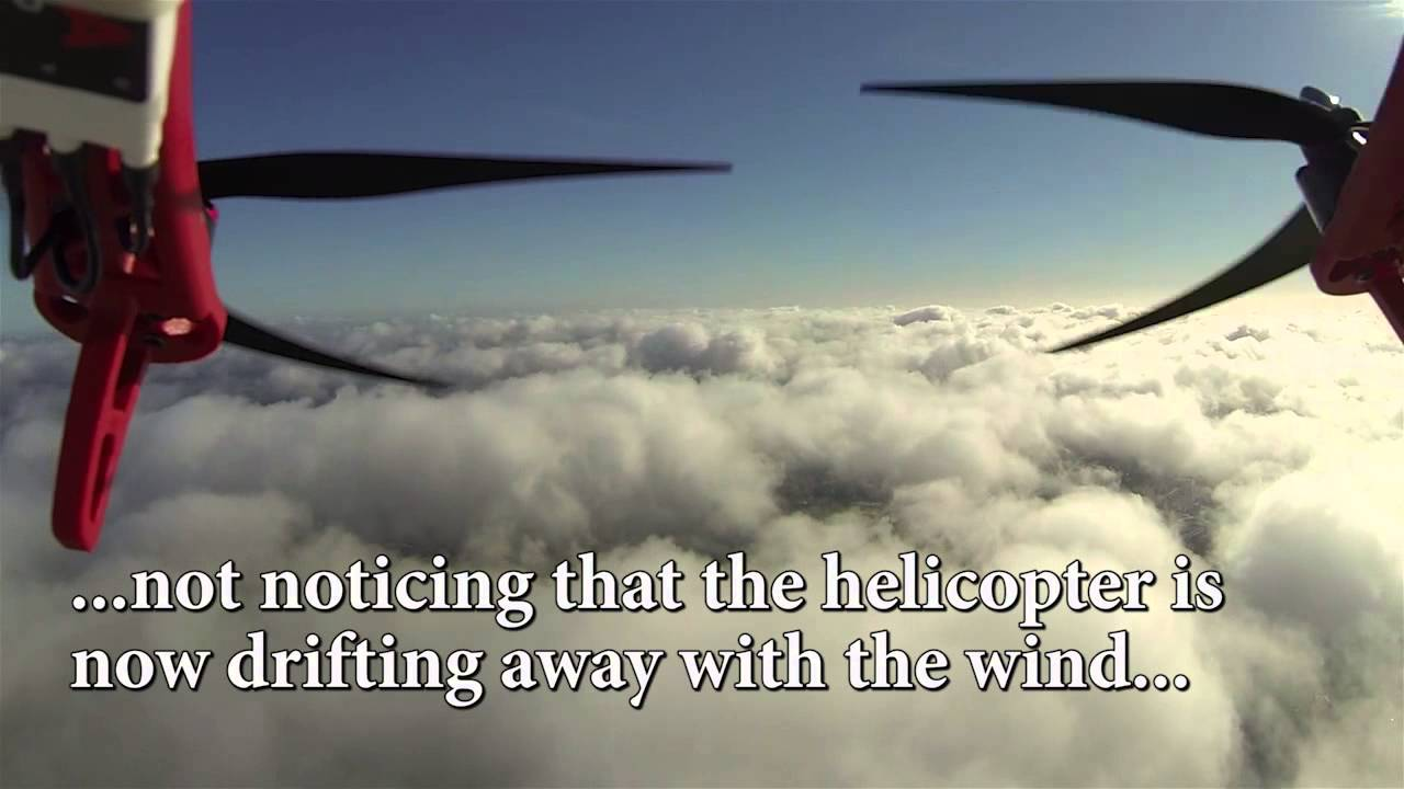 DJI F550 Hexacopter crash after flight above the clouds
