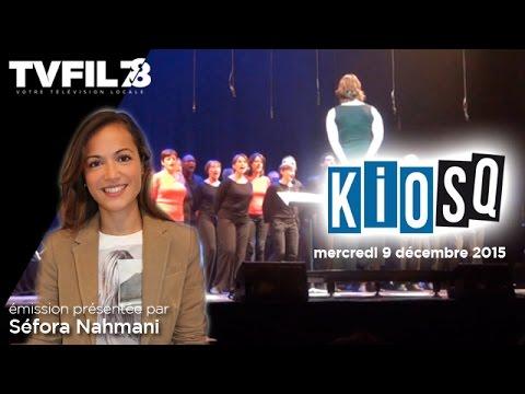 Kiosq – Emission du mercredi 9 décembre 2015