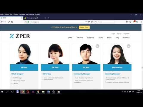ZPER - Decentralized ecosystem for P2P Finance