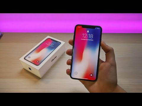 iPhone X Space Grey - Unboxing & Setup