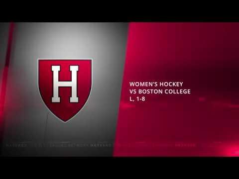 Postgame: Women's Hockey vs. Boston College