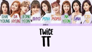 TWICE - TT [Han/Rom/Eng] Pictures   Color Coded Lyrics
