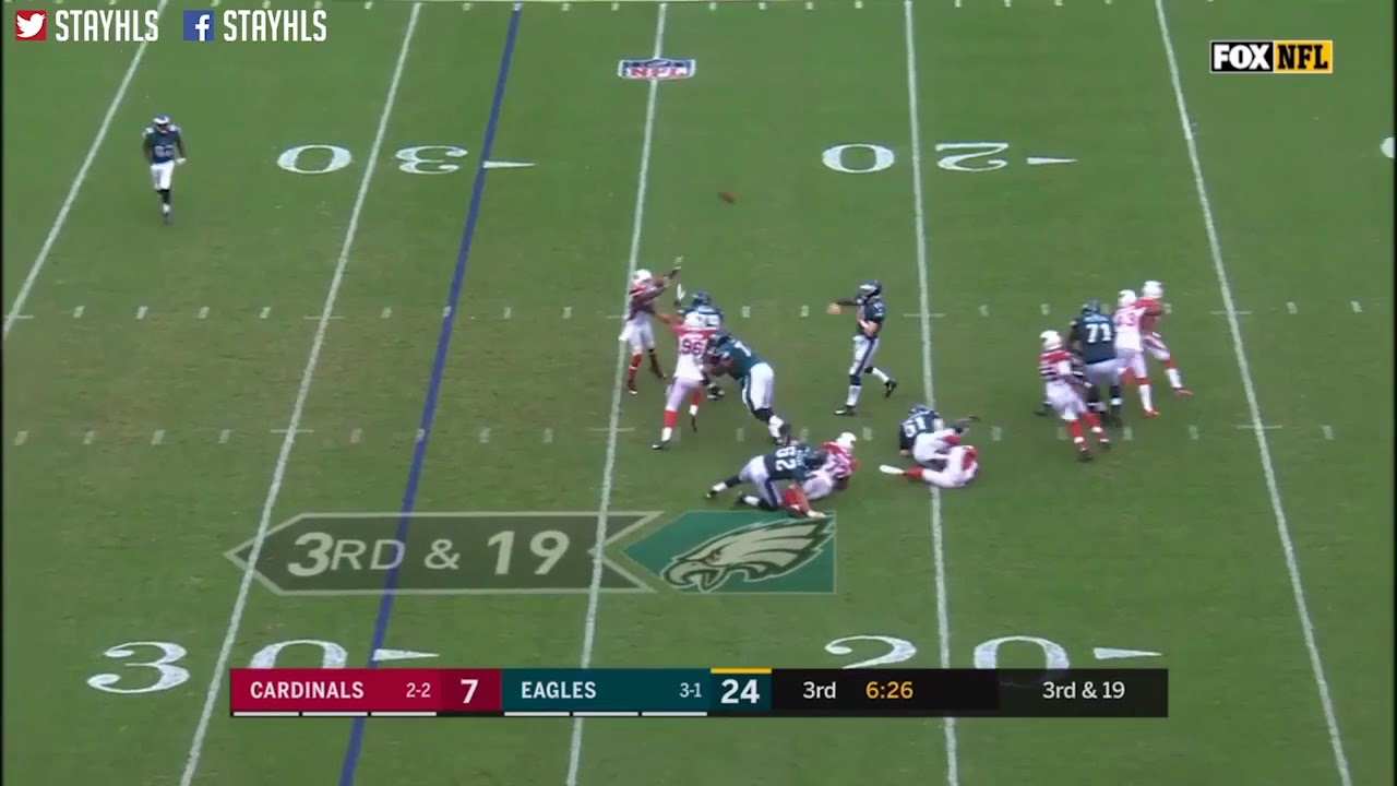 9b3eeffb6e1 Nelson agholor great catch and jukes - YouTube