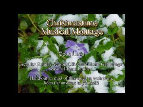 Christmas Music Montage - Song Clips - Guess 50 Titles / Artists