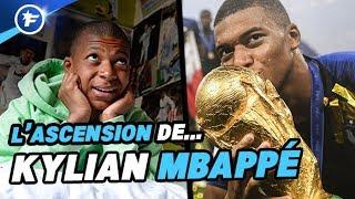 L'ascension fulgurante de Kylian Mbappé, du gamin prodige de Bondy au champion du monde starifié