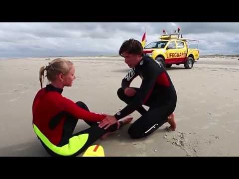 GPTV: Zware trainingsweek voor KNRM Lifeguards Waddeneilanden