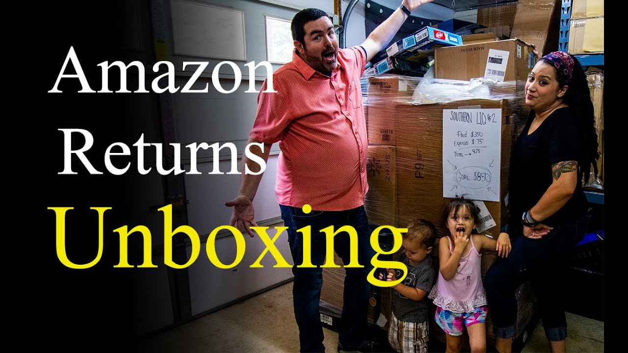 We Will NEVER Forget this Amazon Customer Returns Liquidation Pallet | Liquidation Pallet Unboxing