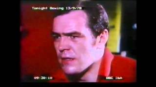 Lenny Mclean (Tonight Boxing Documentry 13-09-1978)