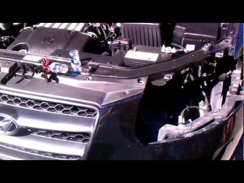 2007 Hyundai Santa Fe Headlight Bulb >> Hyundai Santa Fe LED headlight | Doovi