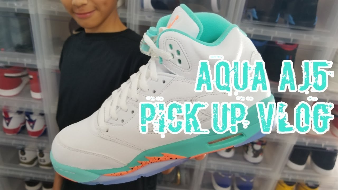 913a2e16996b3 Pick Up Vlog! Air Jordan Retro 5