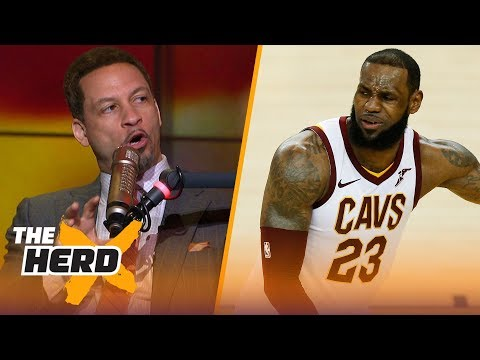 Chris Broussard on LeBron's jealousy of Durant, Curry's 3's in Warriors Game 2 win | NBA | THE HERD
