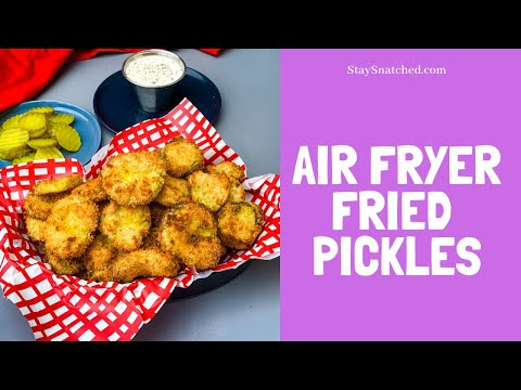 Air-Fryer-Fried-Pickles