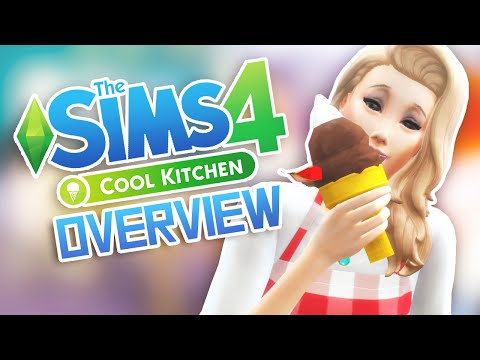 The Sims 4 Cool Kitchen Stuff Overview Asurekazani