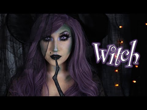 WITCH | Halloween Makeup Tutorial