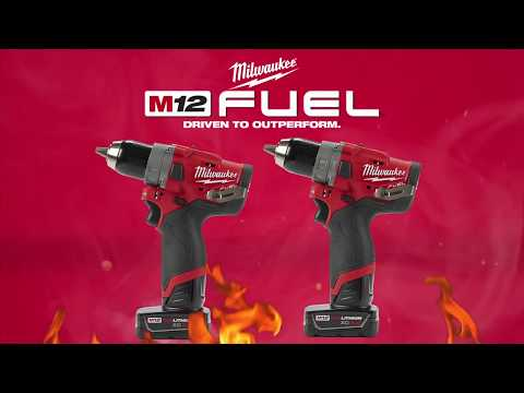 Milwaukee 2503 2504 M12 FUEL Hammer and Drill Driver