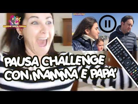 PAUSA CHALLENGE CON Mamma e Papà 24 ore by Marghe Giulia Kawaii