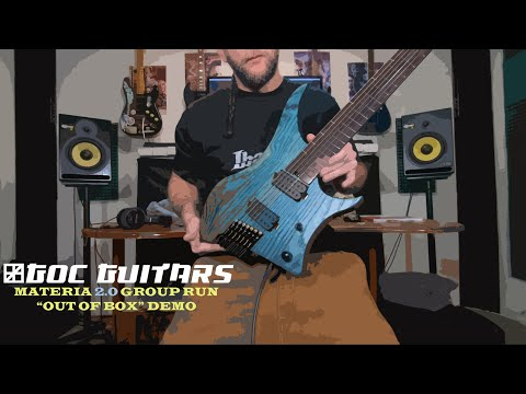 GOC Guitars Materia