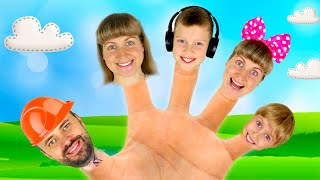 Daddy Finger Family song | Daddy Finger | Kids Song by iFinger