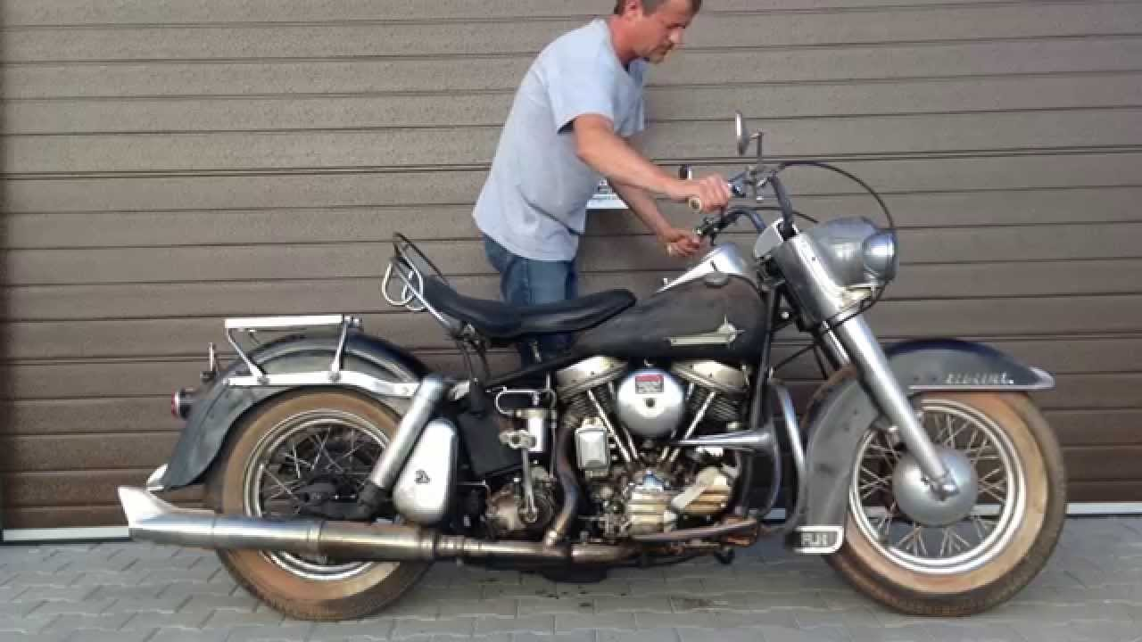 Harley Davidson Duo Glide Panhead 1961 Year Barn Fresh