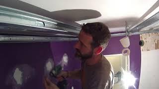 COMMENT  faire un plafond en placo en auto porté