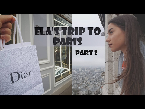 SIGHTSEEING AND SHOPPING AT DIOR | Paris Vlog Part 2