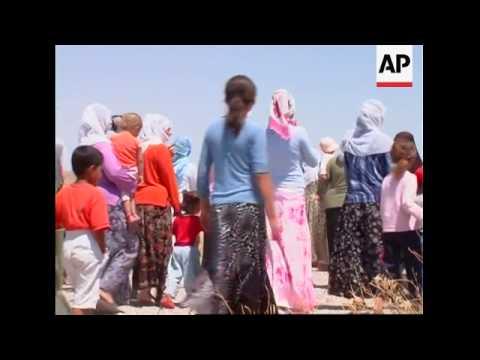 WRAP EC members touring voting stations, meet Kurdish party, Kurds' demo