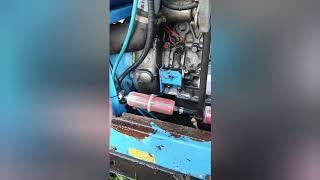 Первый запуск, ремонт и обзор дизельного компрессора AIRMAN 125 S