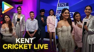 Veere Di Wedding's Kareena Kapoor, Sonam, Swara & Shikha shoot with Brett Lee for Kent cricket live!