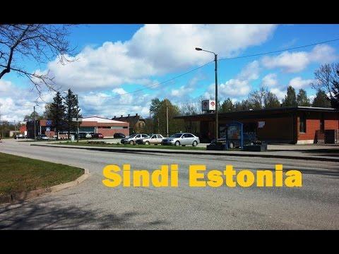 Sindi  town in Pärnu County  Estonia