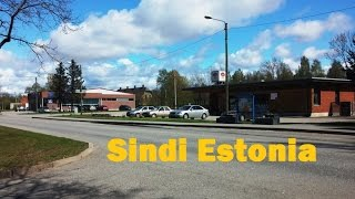 Sindi  town in Pärnu County  Estonia