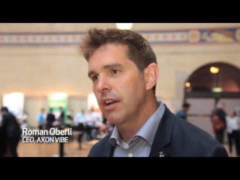 AXON VIBE CEO Roman Oberli - Phocuswright Europe 2017, Amsterdam