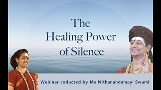Silent Meditation: The Consciousness Diet workshop