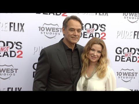 "Jon Lindstrom & Cady McClain ""God's Not Dead 2"" Premiere Red Carpet"