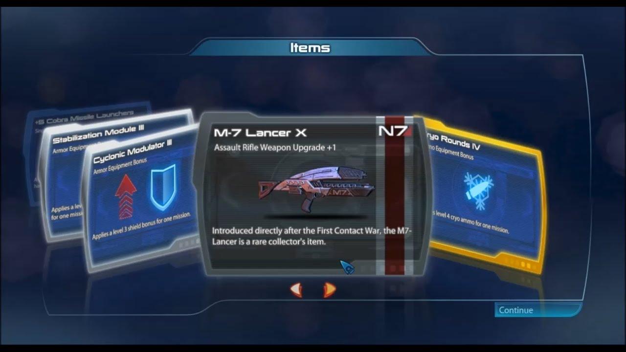 Mass Effect 3 Lancer