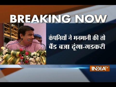 Nitin Gadkari warns cement firms on prices