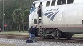 Folkston, GA. - CREW SWAP on the AUTO TRAIN Amtrak P053-16 - 12/17/18